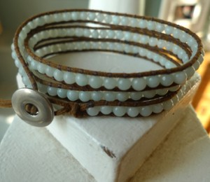 3x Gemstone Wrap Bracelet